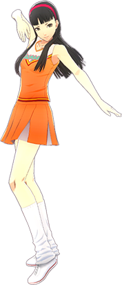 File:P4D Yukiko Amagi cheerleader outfit change.PNG