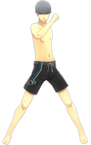 File:P4D Yu Narukami Guy Swimsuits change.png