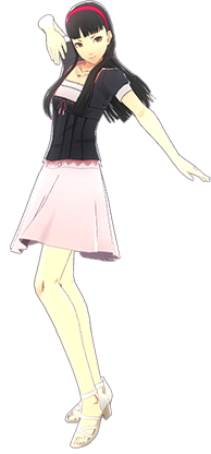 Image - P4D Yukiko Amagi summer outfit change.PNG | Megami Tensei Wiki | FANDOM powered by Wikia