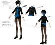 P4D Official Visual Visual Book Original Stage Costume for Naoto