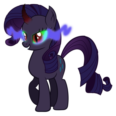 File:Rarity infected by dark magic by artist-tzolkine.png