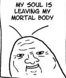 When ur soul leaves ur mortal body