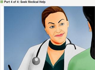 Seek medical help