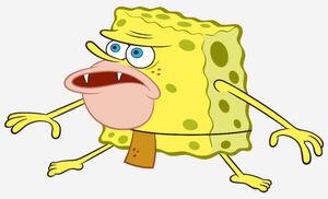 Primitive Sponge SpongeGar Caveman SpongeBob Meme