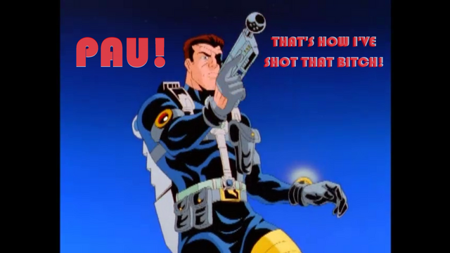 File:Spider-Man Unlimited - Nick Fury ''PAU! That's how I've shot that bitch!'' meme by DXRD.png