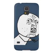 Y u no phone cover