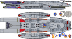 Galactica circa 2255 Earth by TheFreighTrain