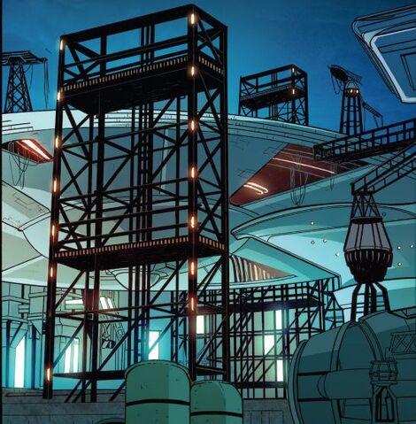 File:Linlithgow Shipyards, ship under construction.jpg
