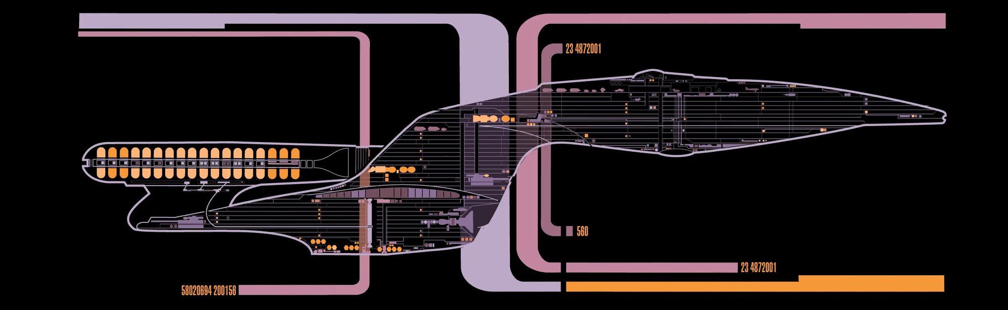 Galaxy Class Decks Memory Alpha Fandom Powered By Wikia