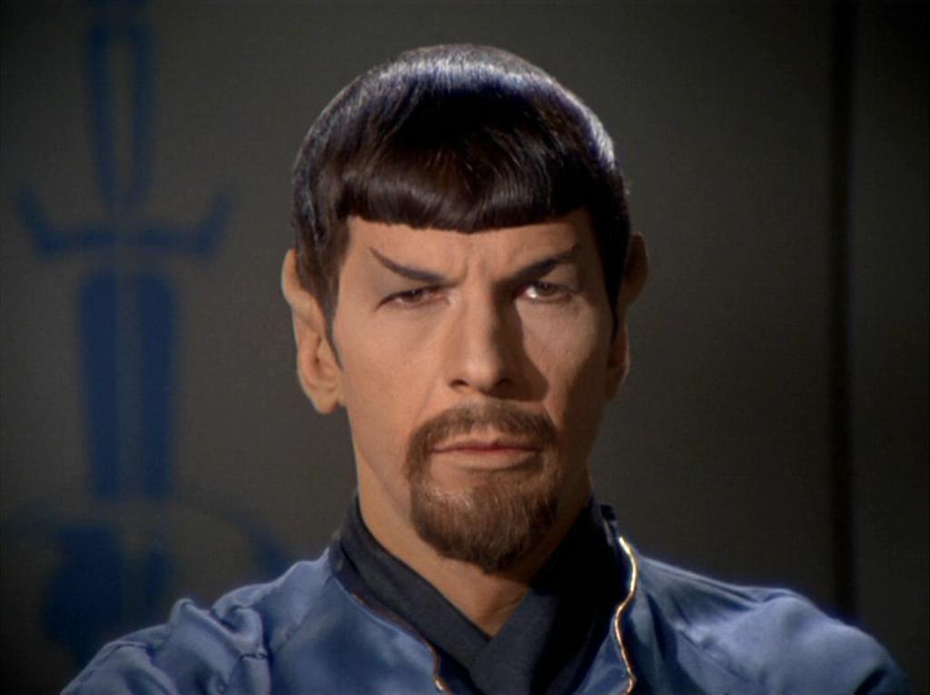 Goateed Spock