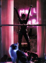 Selina becoming Catwoman