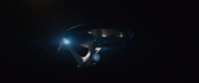 USS Enterprise-A going to warp, alternate reality