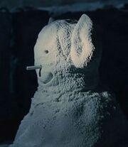Vulcan snow man