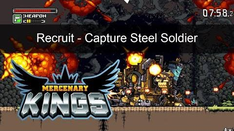 Mercenary Kings - Recruit - Capture a Steel Soldier Mission