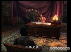 Sergei's desk