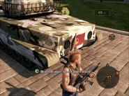 Dragon Lance Light Tank Rear Close-up