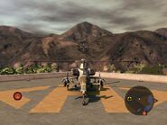 Warsong Attack Helicopter Rear