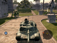 Diplomat Heavy Tank Front