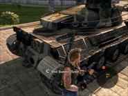 Jaguar Tank Rear Details