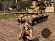 Jaguar Heavy Tank On Foot View