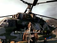Locust Assault Helicopter On Foot