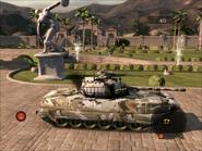 Dragon Lance Light Tank Right Side