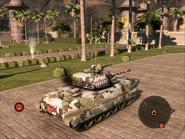 Dragon Lance Light Tank Rear Quarter
