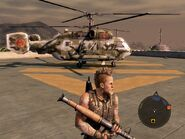 Locust Assault Helicopter Right Side