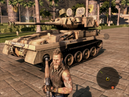 Puma Light Tank Front On Foot