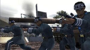 SKU soldiers