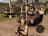 Mantis Light Tank Front On Foot