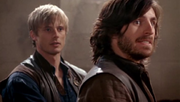 Arthur and Gwaine