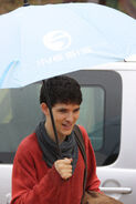 Colin Morgan Behind The Scenes Series 3