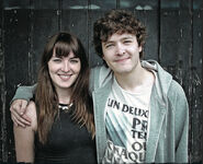 Alex with Lorna Rose Harris