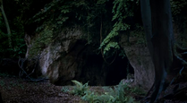 Caves' entrance