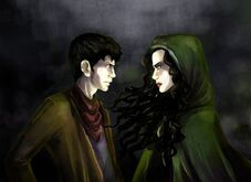 Merlin-vs-Morgana-drawing-merlin-morgana-16914213-900-655 from Fanpop