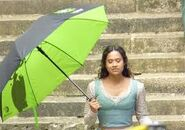 Angel Coulby Behind The Scenes Series 4-2