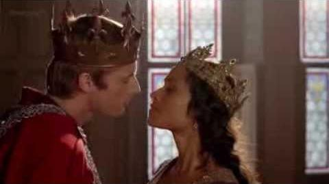 Merlin - Gwen's Coronation Scene 4x13