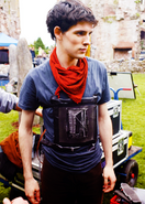 Colin Morgan Behind The Scenes Series 2