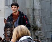 Colin Morgan Behind The Scenes Series 5-18
