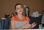 Katie McGrath Comic Con 2012-11