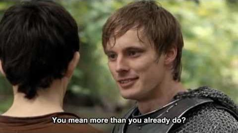 Merlin - Love makes you do strange things (S02E04 Subtitles)