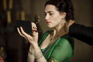 Katie McGrath Behind The Scenes Series 3-1