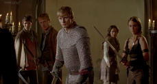 Arthur, Isolde and Tristan