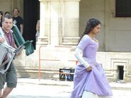 Angel Coulby Behind The Scenes Series 4-1