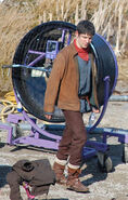 Colin Morgan Behind The Scenes Series 5-4