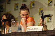 Katie McGrath Comic Con 2012 Merlin Panel