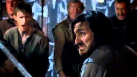 Merlin - Gwaine and Arthur - Fight for Merlin