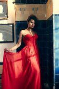 Angel red dress