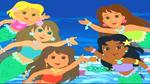 Dora Mermaid Friends